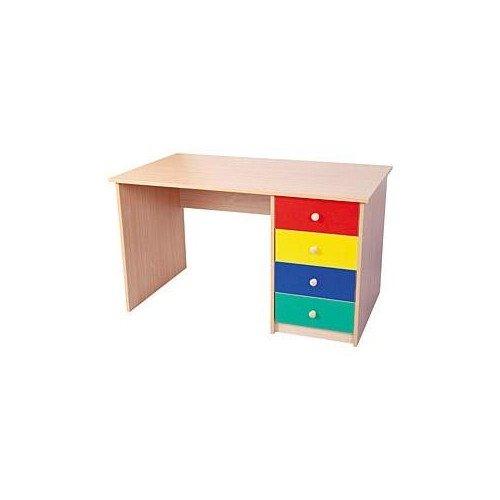 Biurko 1-szafkowe (4 szuflady)