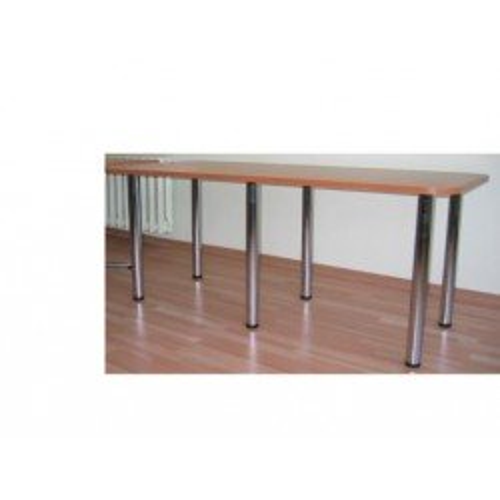 Stół na 6-ciu metalowych nogach