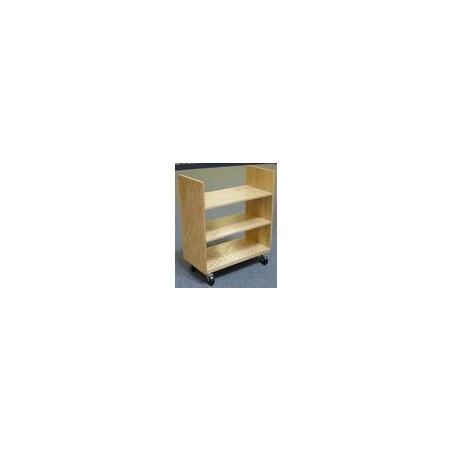 Wózek do przewożenia książek