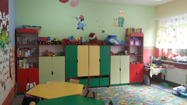 Meble w Szkole Podstawowej w Ludzisku