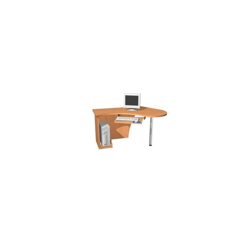 biurka komputerowe z aluminiowym stelażem