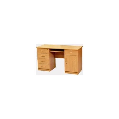 Biurko 1 szafka, 4 szuflady