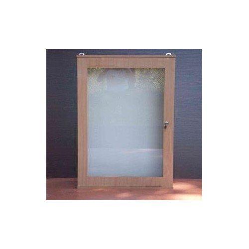 Gablota wisząca na ogłoszenia 1-drzwiowa lub przesuwane szyby