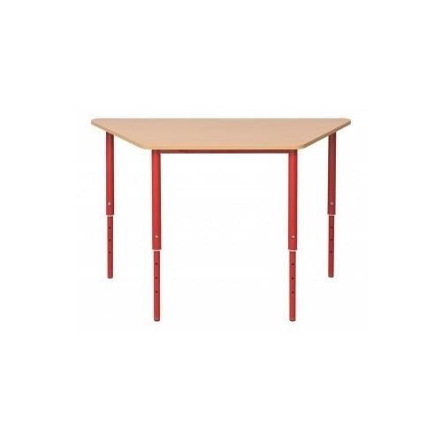 Stół trapezowy z regulowaną wysokością