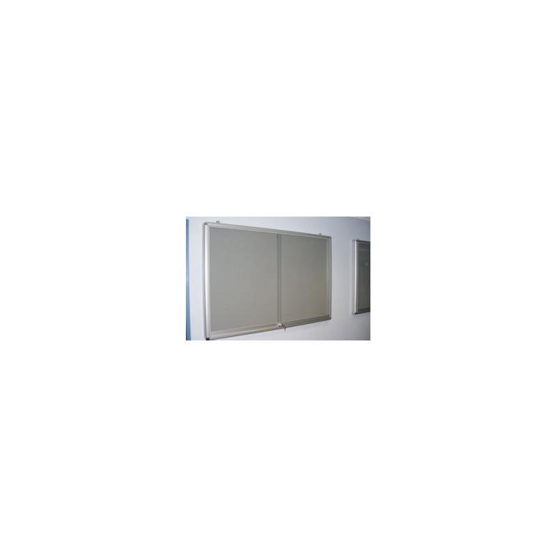 Gablota wisząca ogłoszeniowa 2-drzwiowa