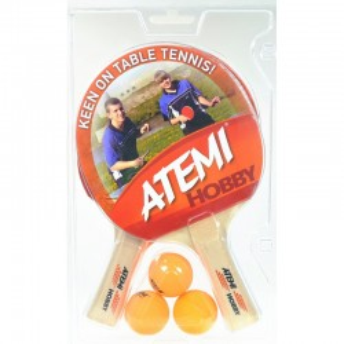 Rakietka do tenisa stołowego Atemi Hobby – zestaw