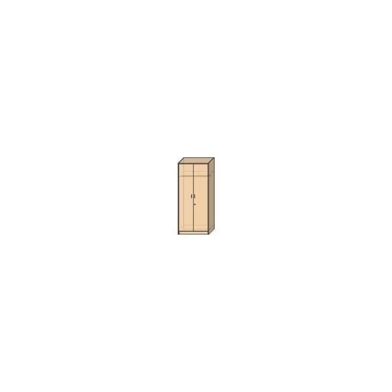 OLA 10 – szafa ubraniowa 2-drzwiowa