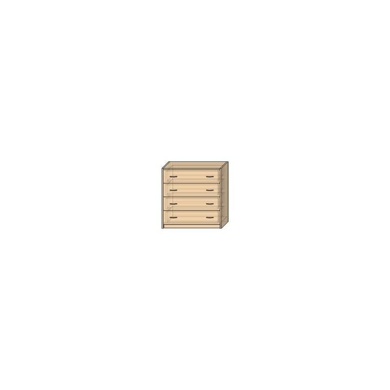 OLA 15 K – szafka z 4 szufladami