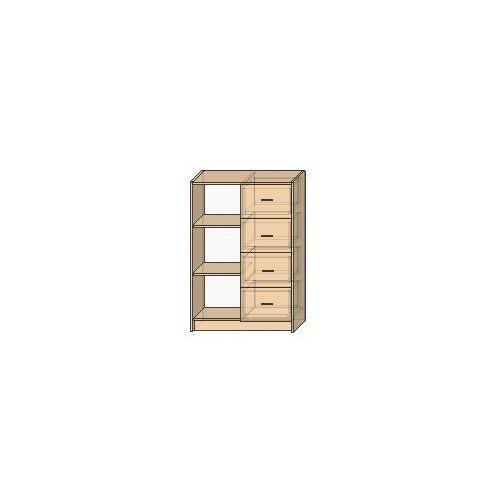 OLA 33 – ½ otwarty, 4 szuflady
