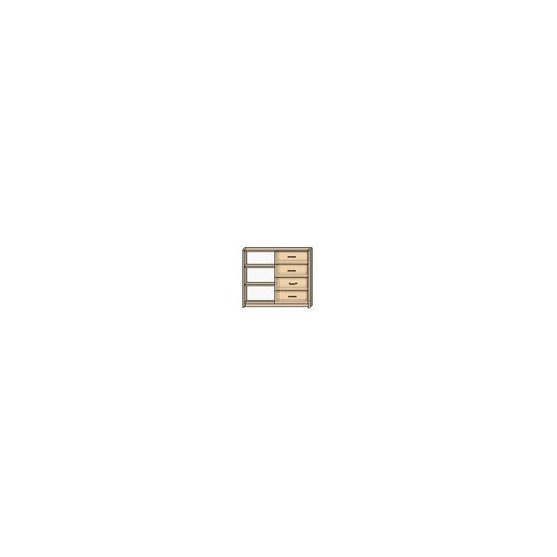 OLA 37 – ½ otwarty, 4 szuflady